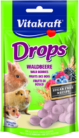 Vitakraft Small Animal Wild Berry Drops 75g x 9