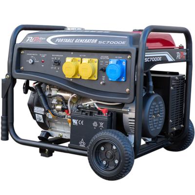 Generator 14hp petrol 7.25kva k/start  PDPro AP7250