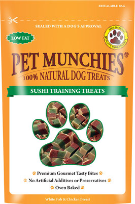 Pet Munchies Dog Training Treats Sushi 50g x 8