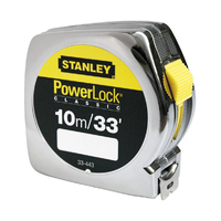Stanley Steel Measuring Tape 10M