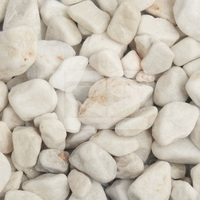 Premium Midi White Pebbles 20-40mm