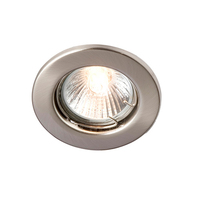 Robus GU10 Straight Downlight Brushed Chrome