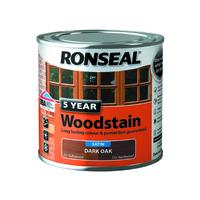 5 Year Woodstain 250ml Dark Oak