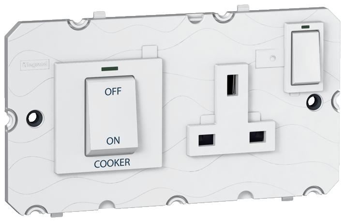 Arteor Cooker Control Unit - White  | LV0501.2414