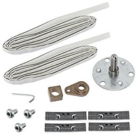 Dryer Bearing and Shaft Repair Kit with front seals