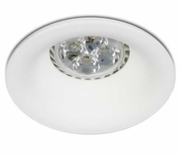 White Semi Trimless Dark Light Downlight | LV1202.0325
