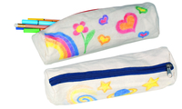 Paint Your Own Pencil Case (P/set Min 1(6pcs/Set)