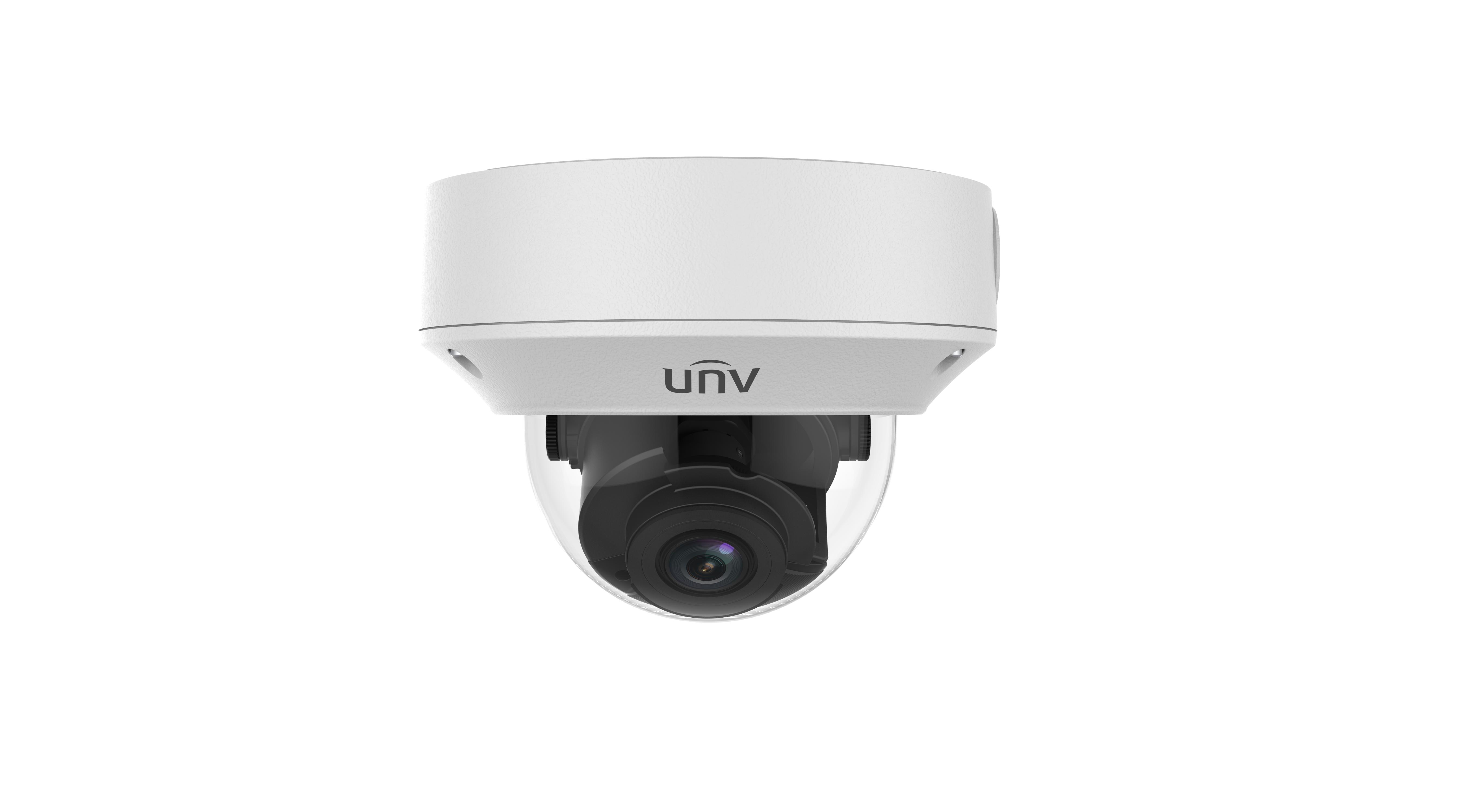 Uniview (Prime) 5MP IP Ultra H.265 2.7~13.5mm Motorised 30m Starlight IR IK10 Dome Camera