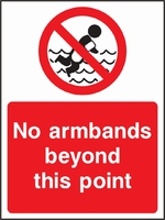 Water Safety Sign WATE0016-1813