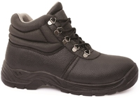Bison Duty Steel Toe Lace Up Safety Boot Black