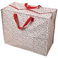 Zipped Shopper Bag La Petite Rose