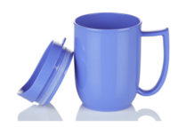 Blue Dining Mug with lid