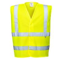 Portwest Bizflame Antistatic Vest Hi-Vis Yellow