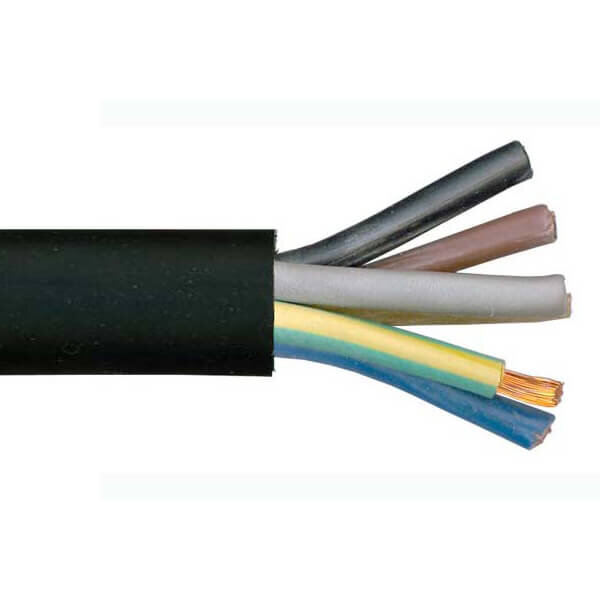 H07RN-F Rubber Cable - 5 Core 10mm2 / HO7RN-F-5C-10