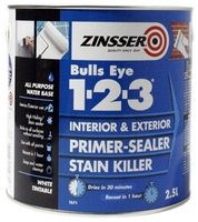 Zinsser Bulls Eye 1-2-3 Primer Sealer 2.5L