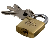 Tricircle Brass Padlock 20mm
