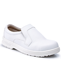 Rugged Terrain White Microfibre Tie Shoe S2 SRC