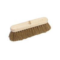 "12"" Natural Coco Broom Head (WT550)"