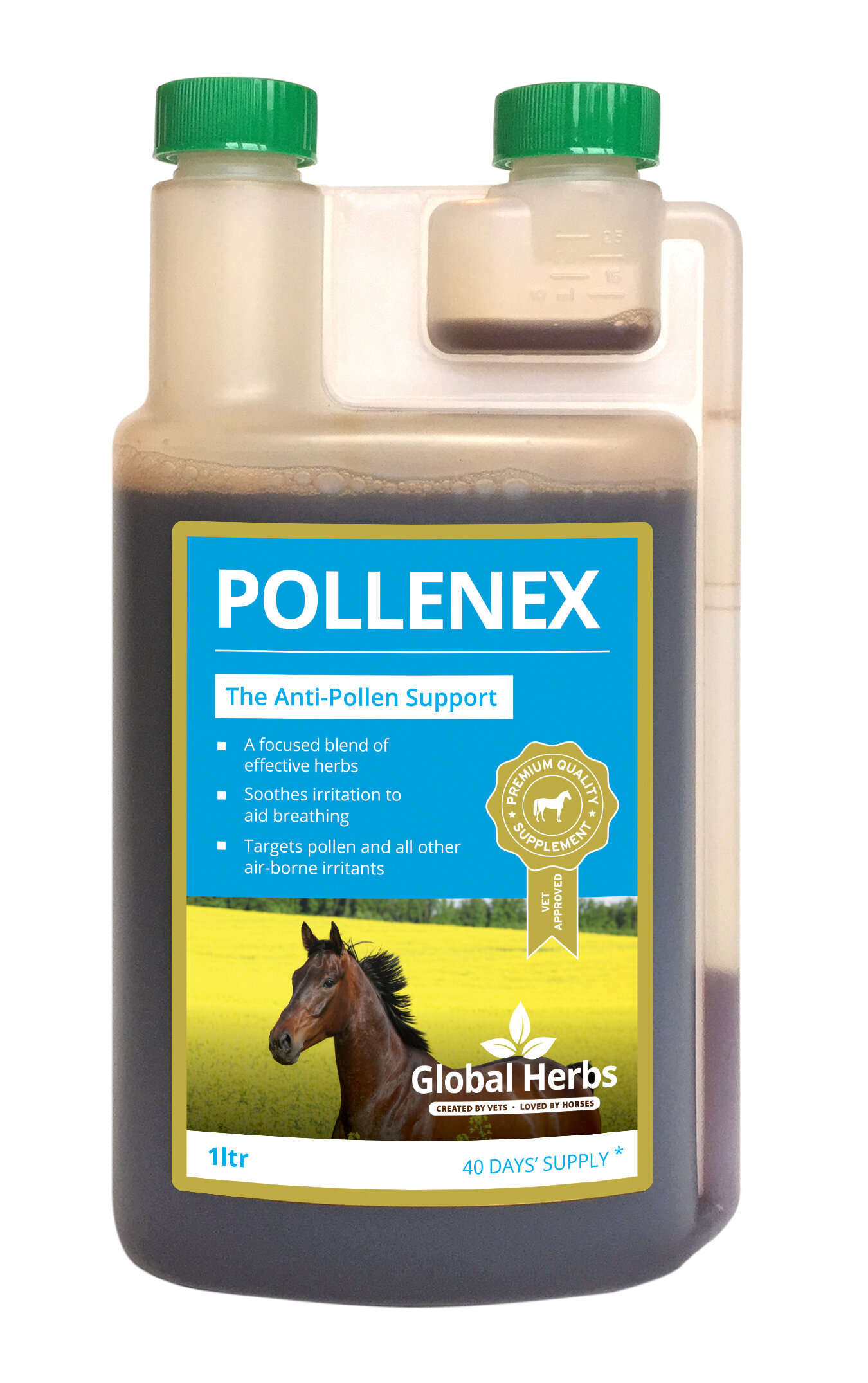 Global Herbs PollenEx Solution 1L