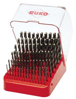 Ruko HSS Ground 1mm to 10mm x 91Pc.