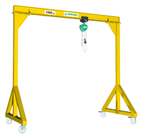 Gantries VGI | i - beam gantries for loads of 250 to 5,000 kg