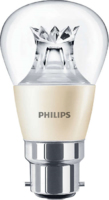 6W-(40W) PHILIPS MAS LEDLUSTRE DT B22 P48 CL