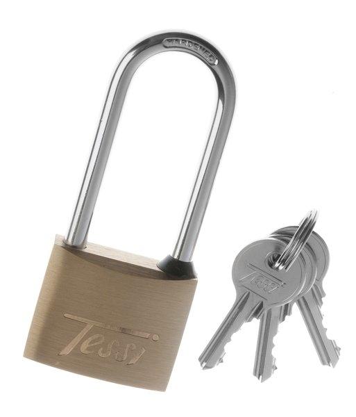 tessi brass padlock 40mm long shackle goodwins