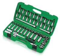 "1/2""Dr Socket & Bit Set 55Pc (metric)"