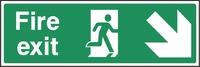 Emergency Escape Sign EMER0006-0354