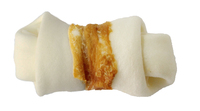 """The Butcher Shop Co. 4.5"""" Wet Process Bone wrapped with Chicken 2pk x 1"""
