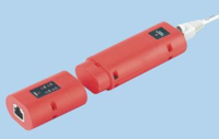 RJ45 UTP/STP CONTINUITY TESTER CHECKS SHIELDED AND UNSHIELDED CABLING