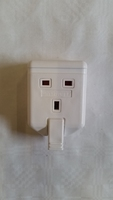 ELS13W WHITE EXTENSION LEAD SOCKET