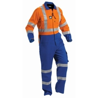 Arcguard Hi Vis Day/Night 88/11/1 Lightweight Zip Overall 240gsm