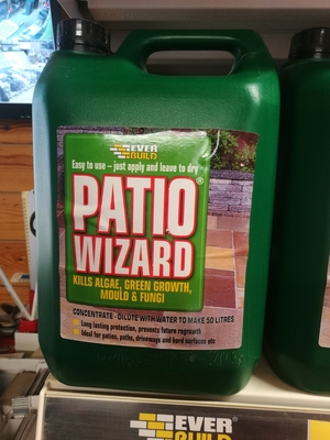 PATIO WIZARD 5LTR