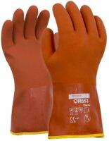 Towa Freezer Gloves Orange
