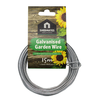Kingfisher Galvanised Garden Wire 15m x 1.6mm - GSW103B (GSW103B)