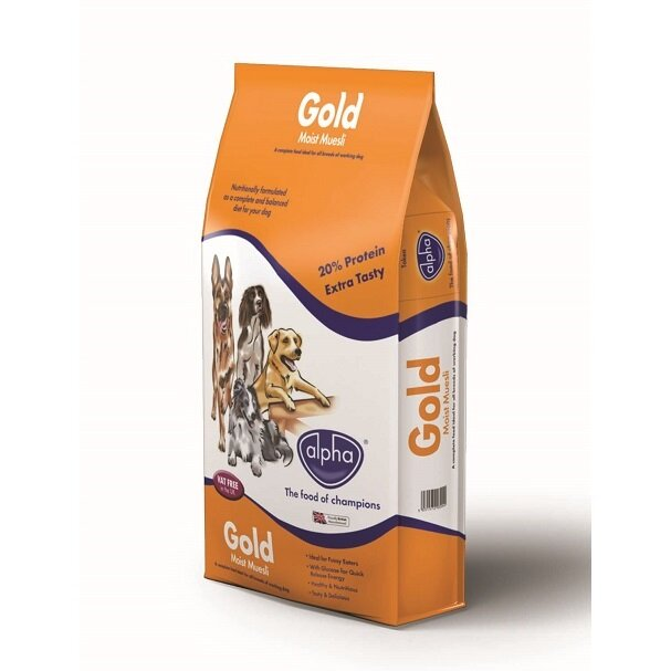 Alpha Gold Moist Muesli 15kg