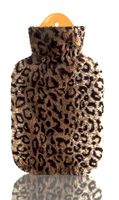 Jungle Covered 2 Litre Hot Water Bottle Leopard
