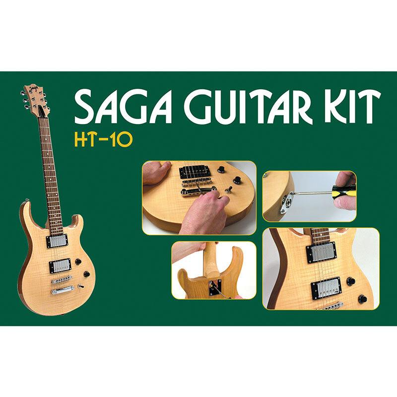 Guitar kit, double cutaway