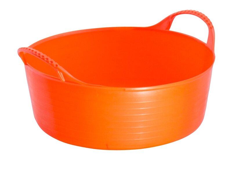 Red Gorilla Tub Orange Mini Shallow 5L