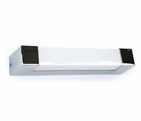 ONE Light POLISHED CHROME T5 8w IP44 BATHROOM WALL LIGHT