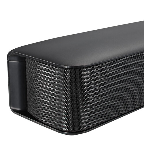 LG 40W Compact Sound Bar with Bluetooth close up image