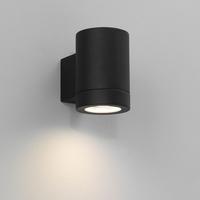 ASTRO PORTO PLUS SINGLE MATT BLACK IP44 WALL LIGHT