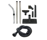 Numatic Tool Kit With 1.7M Flexible Hose, Horsehair Dusting Brush & 300Mm Floor Tool Nozzle (32Mm)