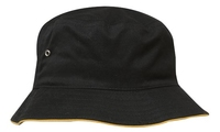Brushed Twill Sports Bucket Hat