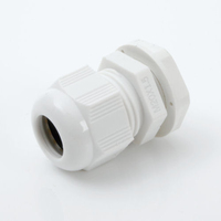 Cable Glands Plastic Metric with Locknut