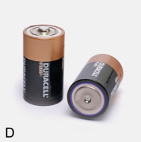 DURACELL D BATTERY (PACKET 2)