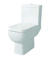 SONAS SERIES 600 CLOSE COUPLE WC W365 X H780 X D595 MM WITH CISTERN AND S/C SEAT