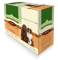 James Wellbeloved Adult Dog Pouch Turkey 150g 10-pack x 1