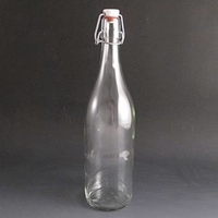 Clip Top Bottle 1 Litre. (Pack of 20)